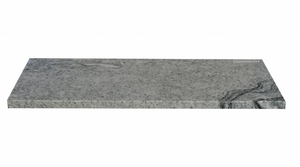 Viscont White Natuursteen vensterbank 240x20x2 cm