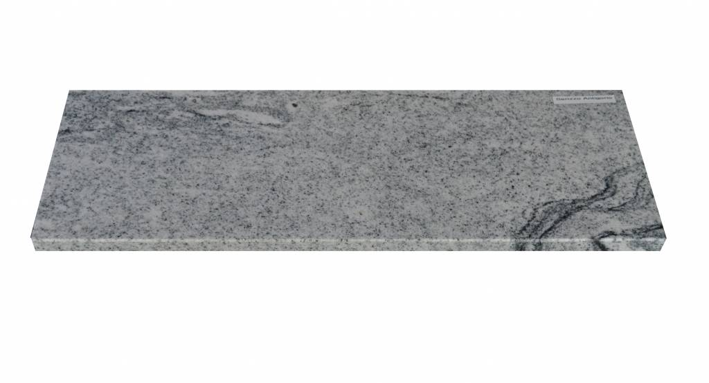 Viscont White Natuursteen vensterbank 125x25x2 cm