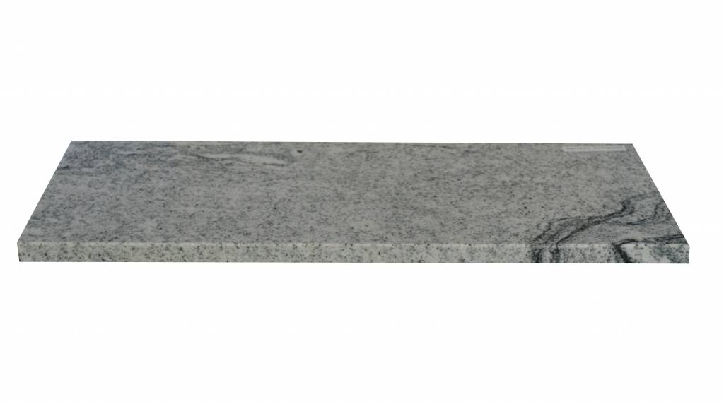 Viscont White Natuursteen vensterbank 240x25x2 cm