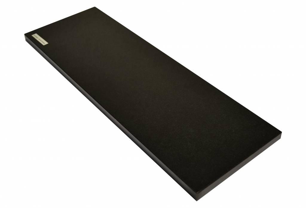 Nero Assoluto Black Natuursteen vensterbank 85x20x2 cm