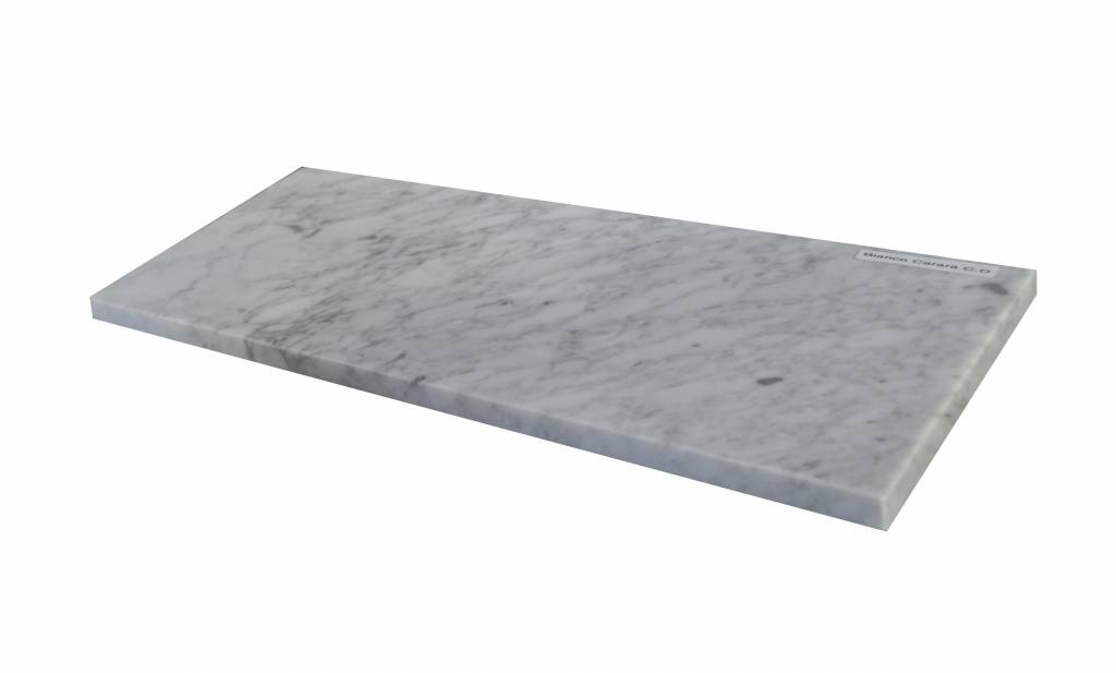 Bianco Carrara Marmeren vensterbank 85x20x2 cm