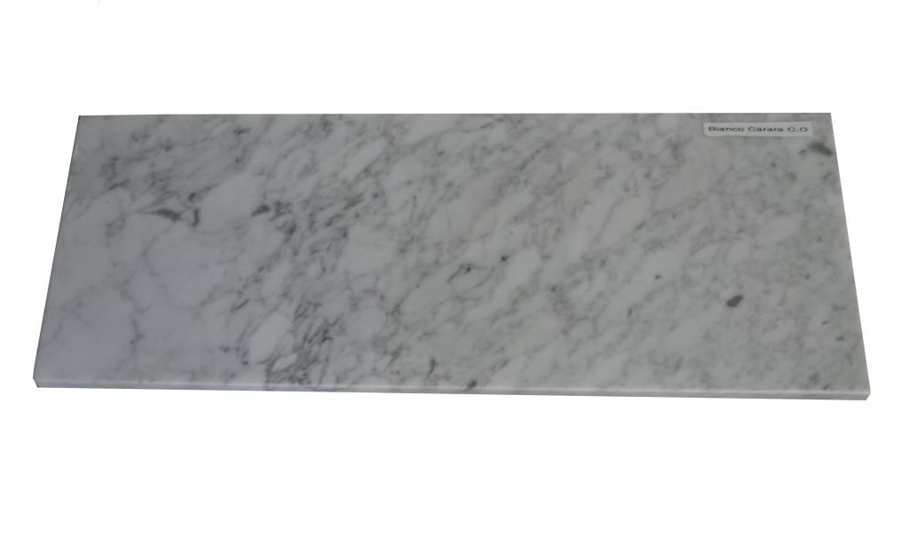 Bianco Carrara Marbre de fenêtre en marbre 85x20x2 cm