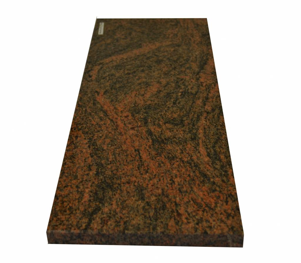 Multicolor Red Natural stone windo sill 240x25x2 cm