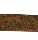 Multicolor Red Natural stone windo sill 140x25x2 cm