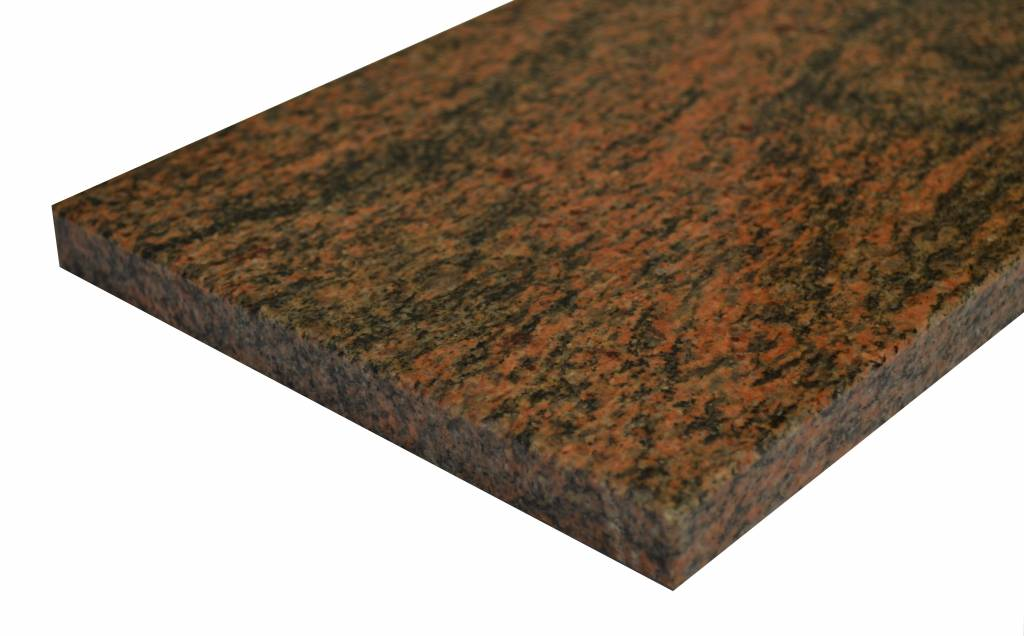 Multicolor Red Natuursteen vensterbank 140x25x2 cm