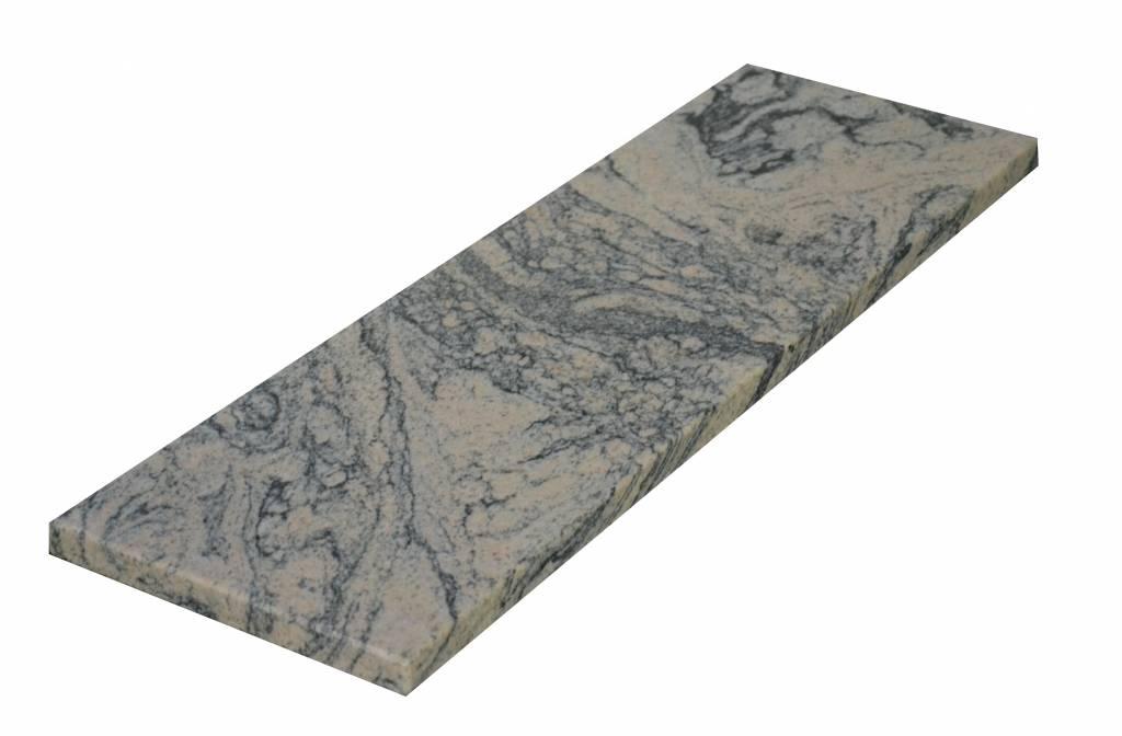 Juparana China Natuursteen vensterbank 85x20x2 cm