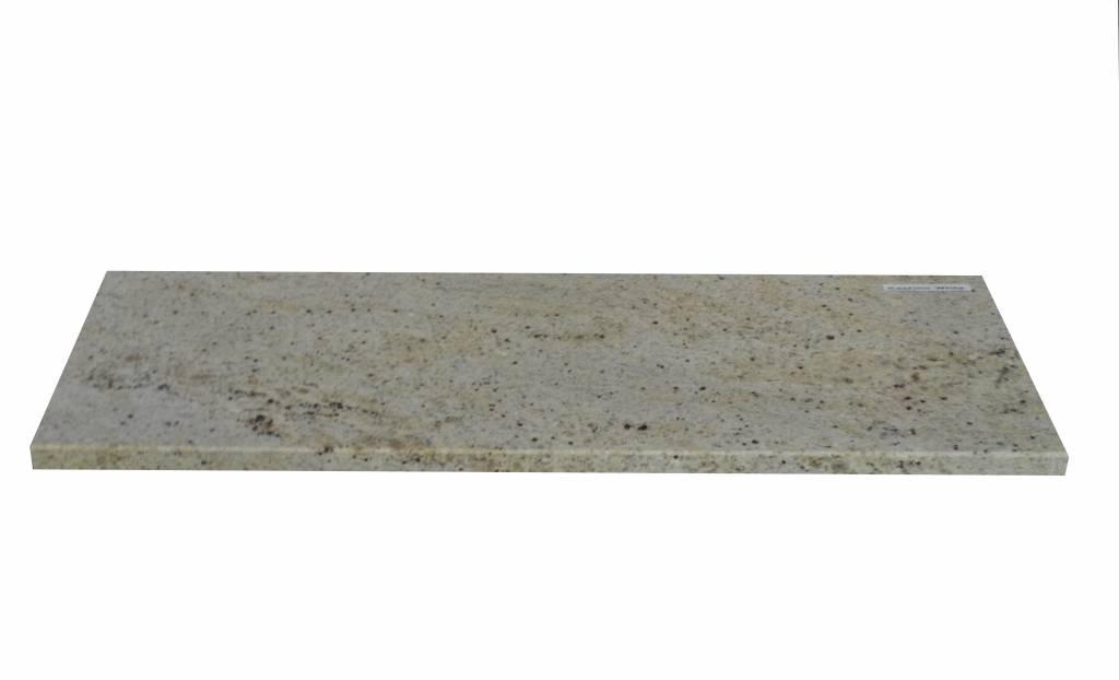 New Kashmir White Natural stone windowsill 125x25x2 cm
