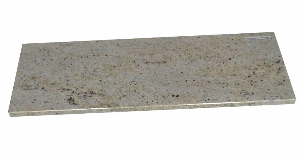 New Kashmir White Natural stone windowsill 240x25x2 cm
