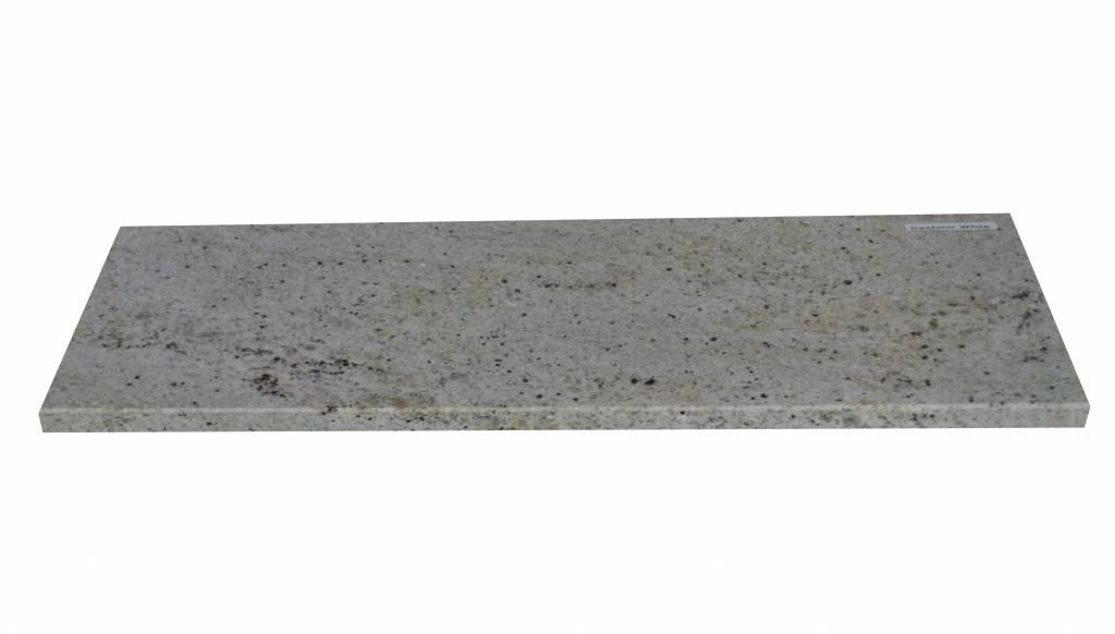 New Kashmir White Natuursteen vensterbank 140x25x2 cm