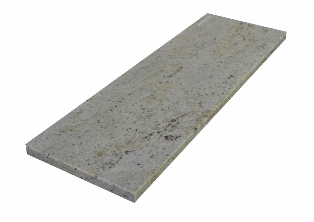 New Kashmir White Naturalny kamień parapet 140x25x2 cm