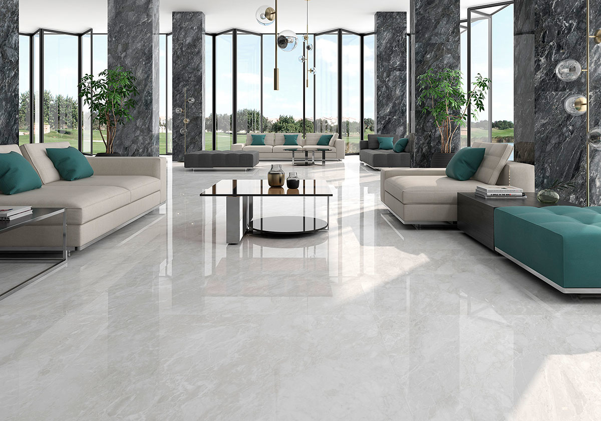 Floor Tiles Silke Gris