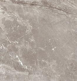 Vloertegels Louvre Gris, gepolijst, gekalibreerd, 1.Keuz in 75x75 cm