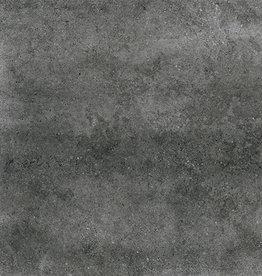 Dalles de sol Materia Grafito mat, chanfreinés, calibré, 1.Choice dans 60x60x1 cm