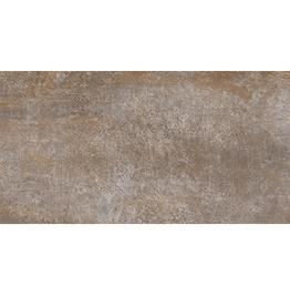 Dalles de sol Steeltech Oxido, mat, chanfreinés, calibré, 1.Choice dans 120x60x1 cm