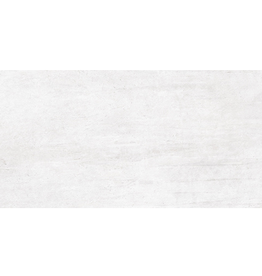 Floor Tiles Steeltech Blanco in mat, chamfered , calibrated, 1.Choice in 120x60x1 cm