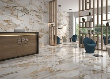 Porcelain stoneware tiles