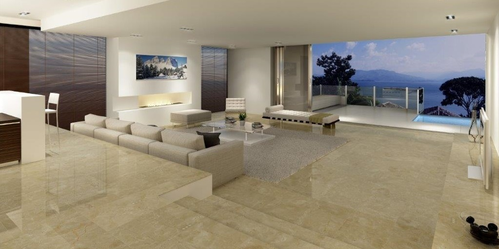 Crema Marfil Marble stone tiles