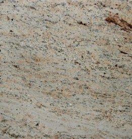 Shivakashi Ivory Brown Dalles en granit poli, chanfrein, calibré, 1ère qualité premium de choix dans 61x30,5x1 cm