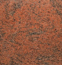 Multicolor Red Graniet Tegels Gepolijst, Facet, Gekalibreerd, 1.Keuz Premium kwaliteit in 61x30,5x1 cm