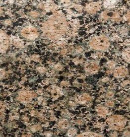 Baltic Brown Graniet Tegels Gepolijst, Facet, Gekalibreerd, 1.Keuz Premium Kwaliteit in 61x30,5x1 cm