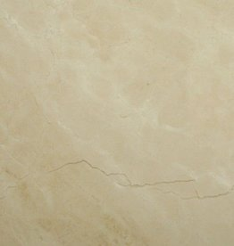 Crema Marfil Marble stone tiles polished, chamfered, calibrated, 1. Choice Premium quality in 61x30,5x1 cm