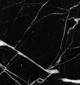 Nero Marquina Marmorfliesen Poliert, Gefast, Kalibriert, 1.Wahl Premium Qualität in 61x30,5x1 cm