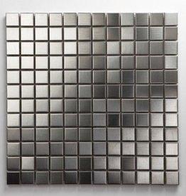 Stal Nierdzewna Metal mozaiki 1. wybór w 30x30x1 cm