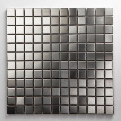 Edelstahl Metall Mosaikfliesen
