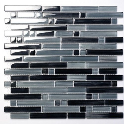 Palermo Grey szklana mozaiki
