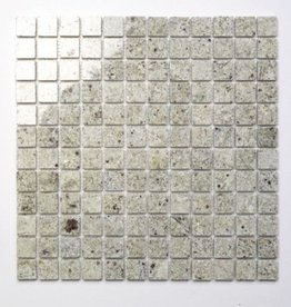 Kashmir White Natural stone mosaic tiles 1. Choice in 30x30x1 cm