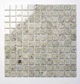 Kashmir White pierre naturelle Mosaïque Carrelage 1. Choice dans 30x30x1 cm