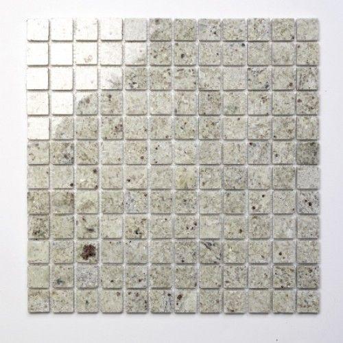 Kashmir White Natural stone mosaic tiles