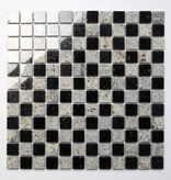 Star Galaxy Kashmir White Natural stone mosaic tiles