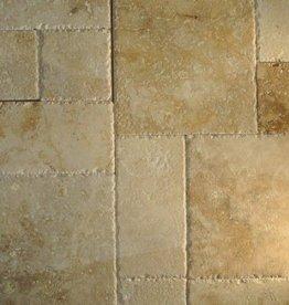 Travertin Carrelage Beige romaine Association 1.Choice qualité supérieure de 1,2 cm d'épaisseur