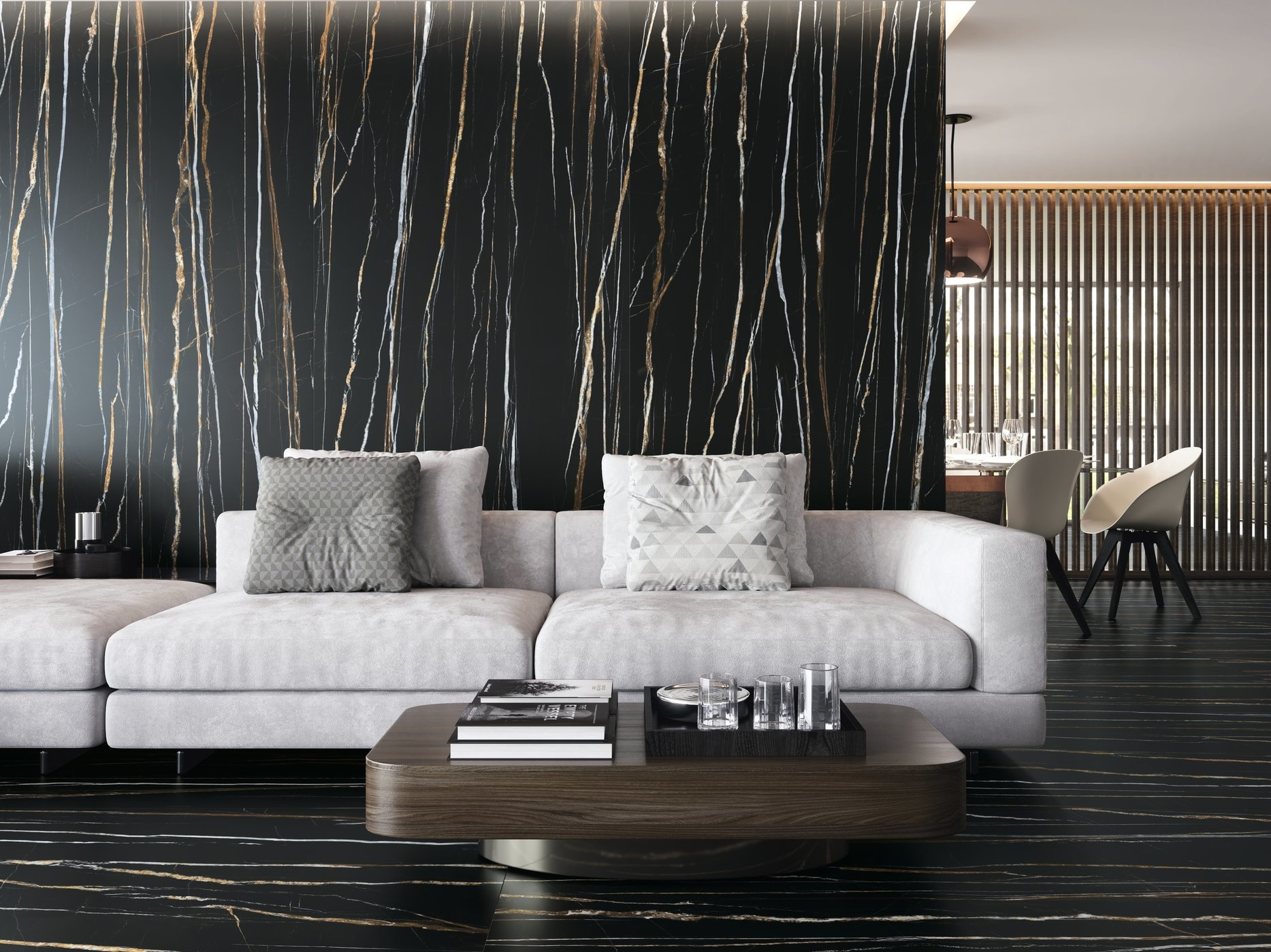 Floor Tiles Daren Noir