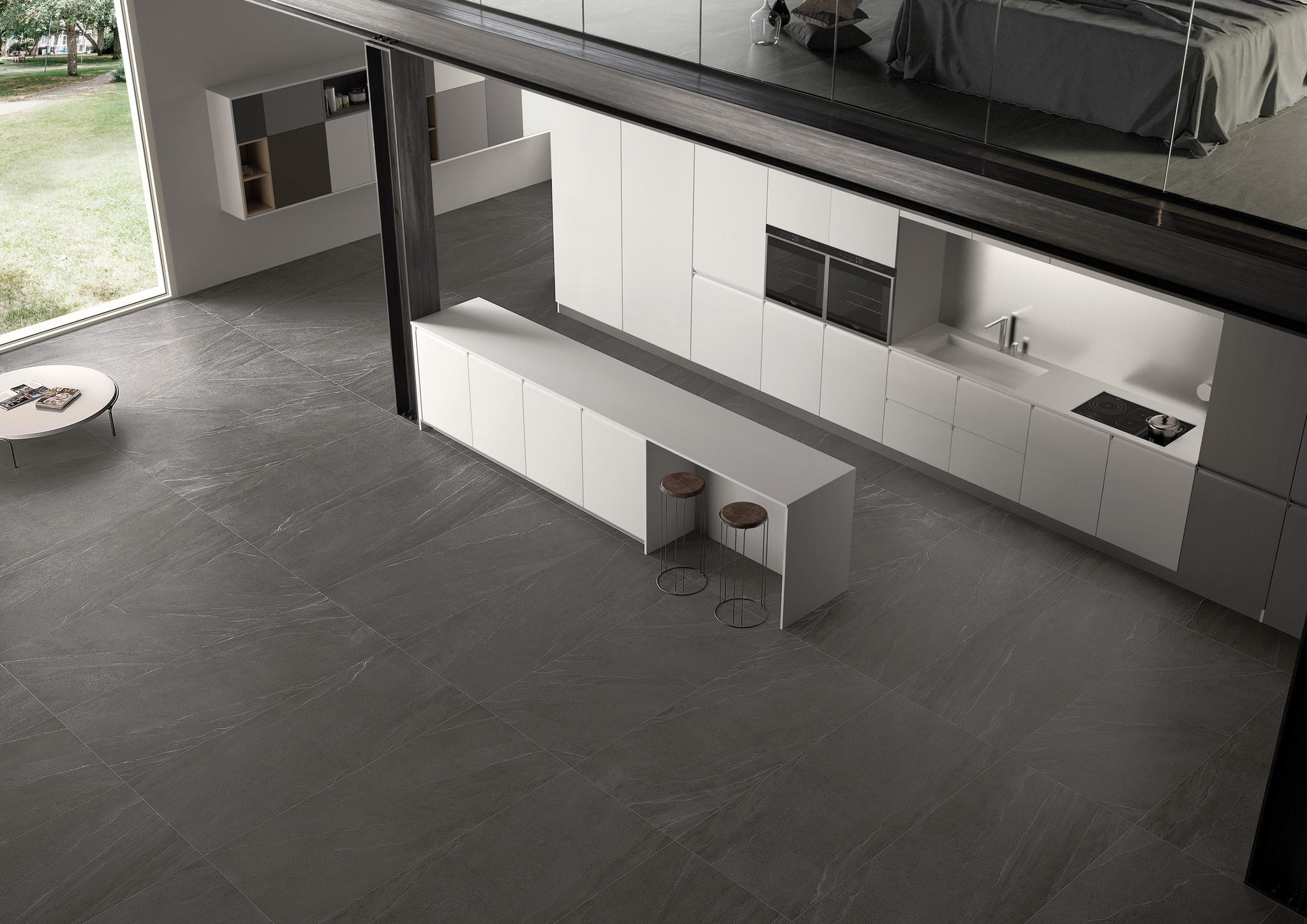 Floor Tiles Landstone Anthrazit