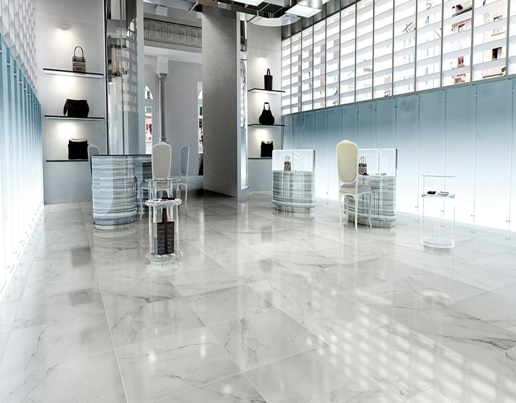 Floor Tiles Snow