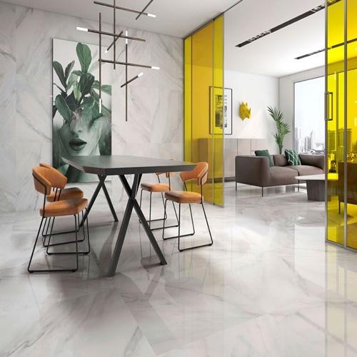 Floor Tiles Calacatta Gris