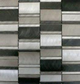 Selenite Matal mosaic tiles 1. Choice in 30x30x1 cm