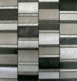 Selenite Metaal Mozaïek Tegels 1. Keuz in 30x30x1 cm