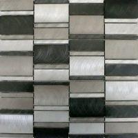 Selenite Metall Mosaikfliesen