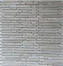 Superslim Biancone Naturstein Mosaikfliesen 1.Wahl in 30x30 cm