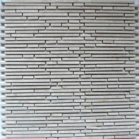 Superslim Biancone Natural stone mosaic tiles