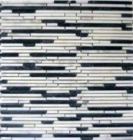 Superslim Carrara Natuursteen Mozaïek Tegels 1. Keuz in 30x30x1 cm