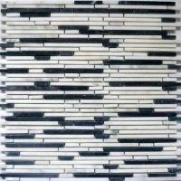 Superslim Carrara Natural stone mosaic tiles