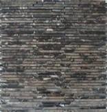Superslim Emperador kamienia naturalnego mozaiki