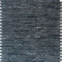 Negro Superslim pierre naturelle Mosaïque Carrelage