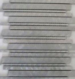 Chromo Metaal Mozaïek Tegels 1. Keuz in 30x30x1 cm