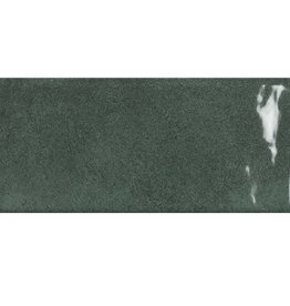 Wandtegels Metro Quin Green glanzend 1. Keuz in 7x28 cm