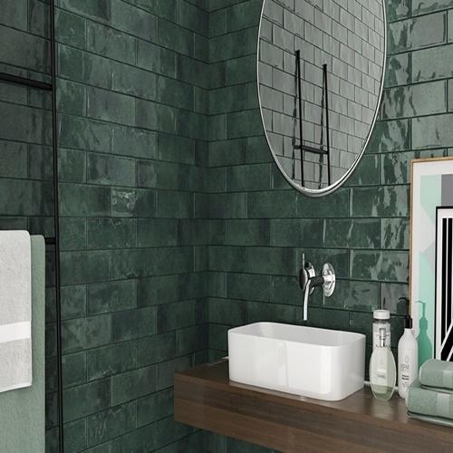 Wall Tiles Metro Quin Green